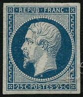 * N°10 25c Bleu, Quasi SC - TB. - 1852 Louis-Napoleon