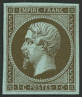 ** N°11c 1c Mordoré - TB - 1853-1860 Napoleon III