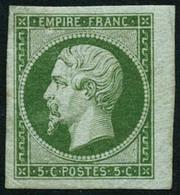 ** N°12 5c Vert - TB. - 1853-1860 Napoleon III