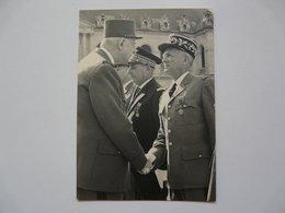 PHOTOGRAPHIE ORIGINALE : GENERAL DE GAULLE - Célébrités