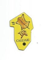 "MAGNET Le Gaulois "" EUROPE - ITALIE - CAGLIARI "" - Magnets"