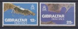 Gibraltar 1978 Gibraltar From Space 2v ** Mnh (44576) - Europese Gedachte