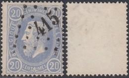 """Belgique 1870 - N°31 Oblitération """"415"""" Flobecq  (BE) DC3953 - Belgique"""