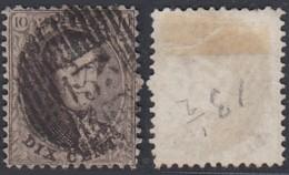 """Belgique 1864 - COB N°14B Oblitération """"Distribution D135""""  Montzen  (BE) DC3956 - Altri"""