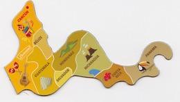 Magnet Brossard - Amérique Du Sud, Guatemala - Magnets