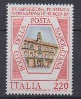 """Italy 1980 Philatelic Exhibition """"Europa"""" 1v ** Mnh (44576A) - Europese Gedachte"""