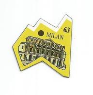 "MAGNET Le Gaulois "" EUROPE - ITALIE - MILAN "" - Magnets"