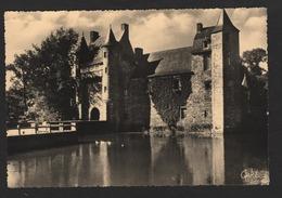 -26 -Environs De PAIMPONT ,ille Et Vilaine,  Le Château De Trécesson ( Pierre Artaud ) - Paimpont