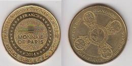 MÉDAILLE TOURISTIQUE - CATHÉDRALE DE MONACO - MARIE LA GLORIEUSE - Arthus Bertrand