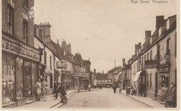 HIGH STREET THRAPSTON 1932 - Angleterre
