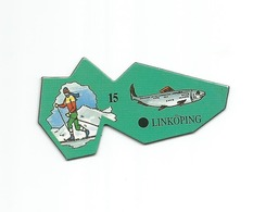 """MAGNET Le Gaulois """" EUROPE - SUEDE - LINKOPING """" - Magnets"""