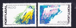 Portugal 1978 European Human Rights 2v ** Mnh (44577A) - Europese Gedachte