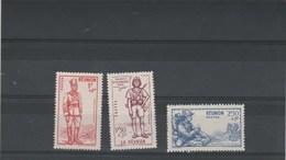 Réunion 1941 Yvert  Série 175 à 177 ** Neufs Sans Charnière - Défense De L'Empire - La Isla De La Reunion (1852-1975)