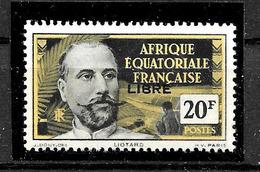 AEF Afrique équatoriale : N° 127 Neuf ** TB (cote : 24,00 €) - Neufs