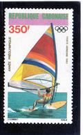 1983 Gabon - Olimpiadi Di Los Angeles - Vela