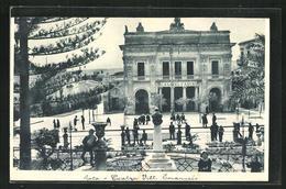 Cartolina Noto, Teatro Vittorio Emanuele - Andere Steden