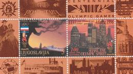 1996, Jugoslawien, 2775 Block 44,  MNH **,  Olympische Sommerspiele, Atlanta. - Blocks & Kleinbögen