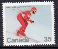 Canada 1980 Winter Olympic Games, Lake Placid, MNH, SG 970 - 1952-.... Reign Of Elizabeth II