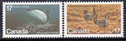Canada 1980 Endangered Wildlife IV Set Of 2, MNH, SG 976/7 - 1952-.... Reign Of Elizabeth II