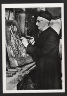 -M. L'ABBE QUEMERAIS Chevalier De La Légion D'Honneur Auteur Des Bois Sculptés Dans Son Atelier De Rothéneuf (35 I&v ) - Personaggi Storici