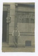 E017 Photo Originale Vintage Commerce Devanture Façade Coiffeur Dumoulin Nord De France - Altri