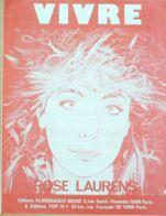 PARTITION-LAURENS ROSE-VIVRE-1983-68 - Musique & Instruments