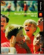 Norwegen MiNr. MH 1426/29 ** 100 Jahre Norwegischer Fußballverbund - Norwegen