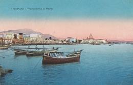 TRAPANI-PANORAMA E PORTO-CARTOLINA NON VIAGGIATA -ANNO 1920-1930 - Trapani