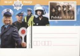 Poland 2010, State Corps, Police, Firemen, Postal Stationery - Firemen