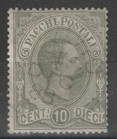 Italie - Colis Postaux - YT 1 Oblitéré - 1878-00 Humbert I.