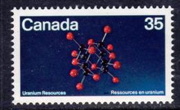 Canada 1980 Uranium Resources, MNH, SG 988 - 1952-.... Reign Of Elizabeth II