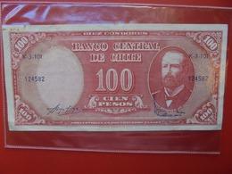 CHILI 10 CENTESIMOS 1960-61 CIRCULER  (B.7) - Chili