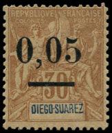 MADAGASCAR Poste * - 59I, 0.05/30c. Diego - Cote: 200 - Sin Clasificación