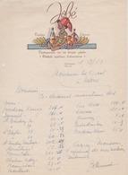 Factuur JOBE - Antwerpen - MEIR -Vruchten - Likeuren - Voedingswaren - 1943 - Belgium