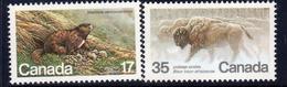 Canada 1981 Endangered Wildlife V Set Of 2, MNH, SG 1006/7 - 1952-.... Reign Of Elizabeth II