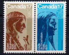 Canada 1981 Canadian Catholic Women Pair, MNH, SG 1008/9 - 1952-.... Reign Of Elizabeth II