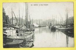 * Antwerpen - Anvers - Antwerp * (nr 112) Le Quai Flamand, Bateau, Boat, Boot, Péniche, Port, Haven, Harbour, Schelde - Antwerpen