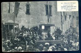 Cpa  Du 44  Nantes  1910 Fêtes De La Bretagne à Travers Les âges Mlle Meunier 1ère Danseuse De L' Opéra    JM33 - Nantes