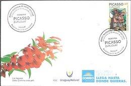 FDC URUGUAY 2019 - Picasso