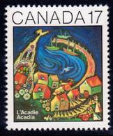 Canada 1981 Centenary Of Acadia Convention, MNH, SG 1021 - 1952-.... Reign Of Elizabeth II