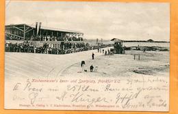 Frankfurt An Der Oder Renn Und Sportplatz Germany 1900 Postcard Mailed - Frankfurt A. D. Oder