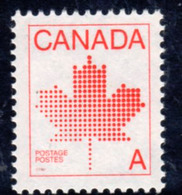 Canada 1981 Maple Leaf Definitive,'A' Value, MNH, SG 1030 - 1952-.... Reign Of Elizabeth II