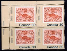 Canada 1982 Canada '82 Stamp Exhibition 30c Value Marginal Block Of 4, MNH, SG 1037 - 1952-.... Reign Of Elizabeth II