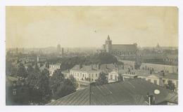 E026 Photo Originale Vintage Vue D'une Ville Du Nord De France Flandre Belgique Vers 1902 - Altri