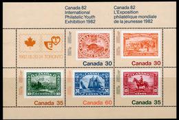 Canada 1982 Canada '82 Stamp Exhibition MS, MNH, SG 1042 - 1952-.... Reign Of Elizabeth II