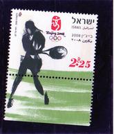 2008 Israele - Olimpiadi Di Pechino - Tenis
