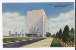 AK46 Veterans Memorial Building, Detroit, Michigan - Linen - Detroit