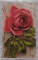 AL79 Greetings - Birthday, Red Rose - Birthday