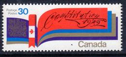 Canada 1982 Patriation Of Constituition, MNH, SG 1045 - 1952-.... Reign Of Elizabeth II