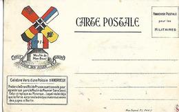Carte Postale Pour Les MILITAIRES 1914 Moulin Du Meunier SANS SOUCI FREDERIC Roi De PRUSSE - Guerre 1914-18